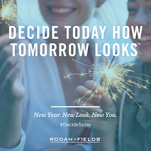 DECIDE TODAY HOW TOMORROW LOOKS